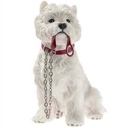 Leonardo Walkies Westie Dog Ornament