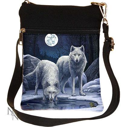 Warriors of Winter Wolf Shoulder Bag 23cm (Lisa Parker)