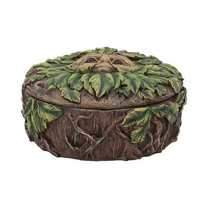 Eyes of The Forest Tree Spirit Trinket Box - 13.5cm