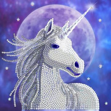 Starlight Unicorn Crystal Art Card Kit - Anne Stokes