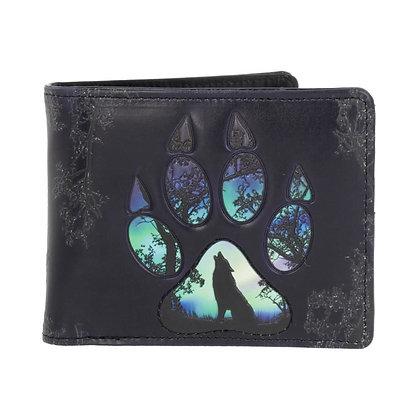Wolf Footprints Wallet 11cm