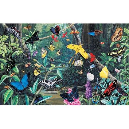 Butterfly Kaleidoscope 1000 Piece Jigsaw Puzzle
