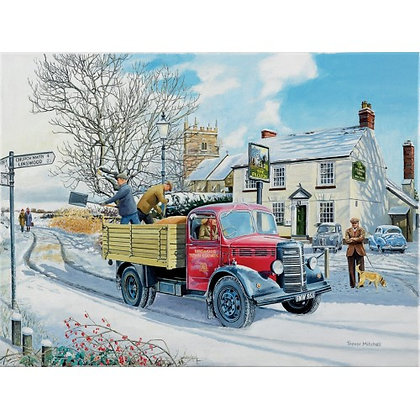 Gritting The Road 1000 Piece Jigsaw Puzzle