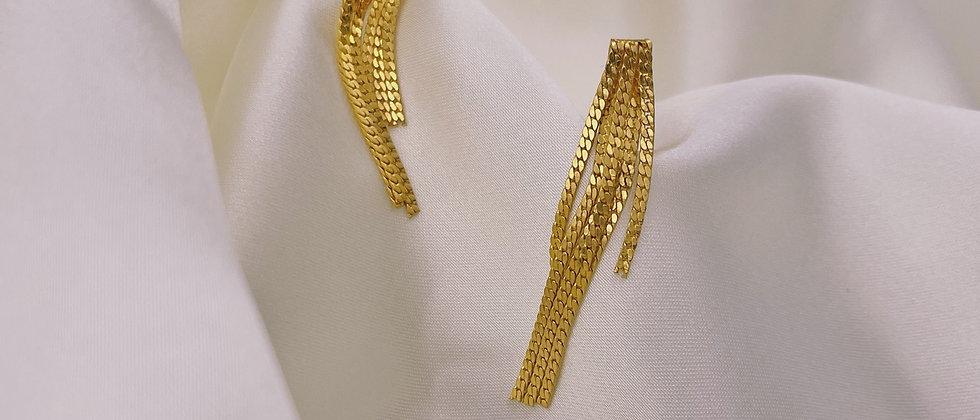 Fringed Avon earrings