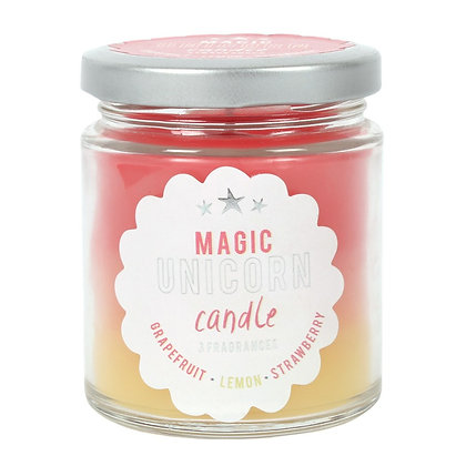 Magic Unicorn Rainbow Candle - 8cm