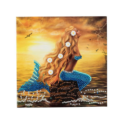 Mermaid Dreams Crystal Art Card Kit