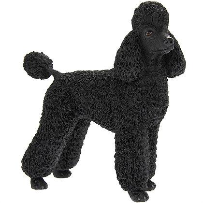 Leonardo Black Poodle Dog Ornament