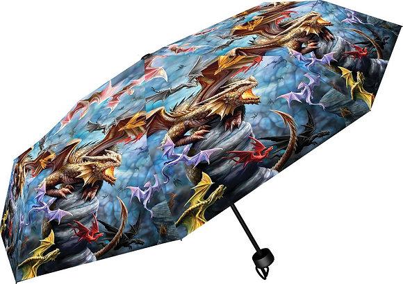 Dragon Clan Umbrella - Anne Stokes