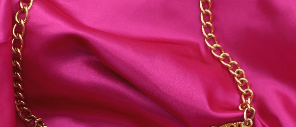 Golden colorful belt