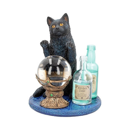 The Witches Apprentice Cat Ornament - Lisa Parker - 19.5cm