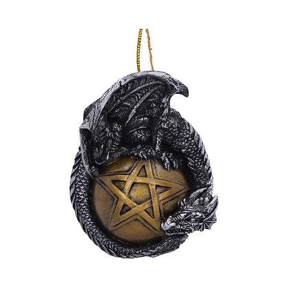 Caspar Hanging Dragon Ornament - 8.9cm