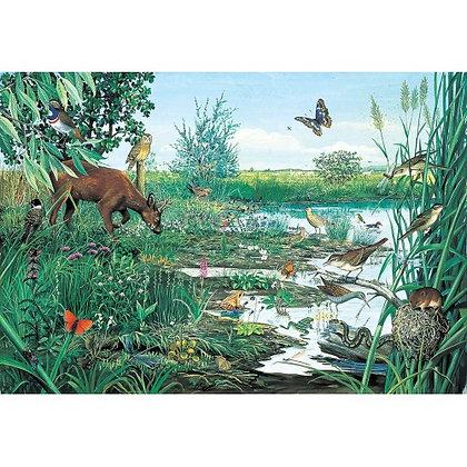 Marsh and Peatland 1000 Piece Jigsaw Puzzle