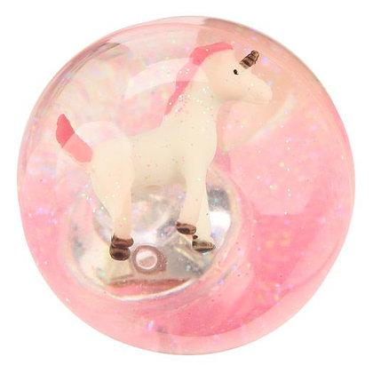 Unicorn Flashing LED Bouncy Ball 6cm