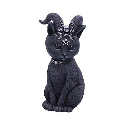 Pawzuph Horned Occult Cat Ornament - 11cm