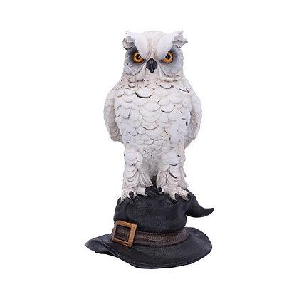 Soren White Horned Owl Ornament - 15.3cm