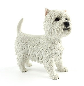 Leonardo West Highland Terrier Dog Ornament