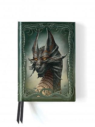 Black Dragon Embossed Journal