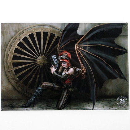 Assassin Steampunk Angel Fridge Magnet - Anne Stokes