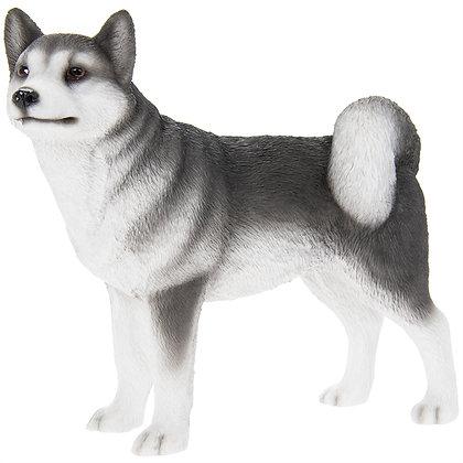 Leonardo Husky Dog Ornament