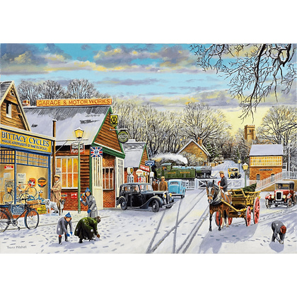 Winter Service 1000 Piece Jigsaw Puzzle
