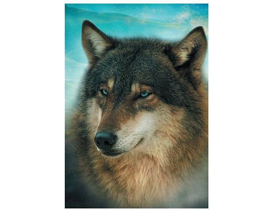 Winston Wolf Greeting Card