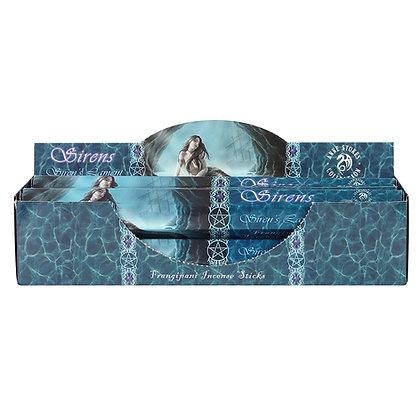 20 Siren's Lament Frangipani Incense Sticks - Anne Stokes