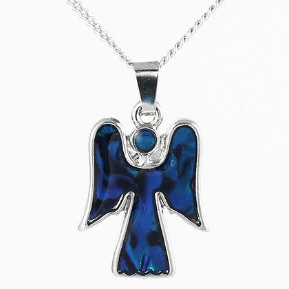 Angel Paua Shell Pendant