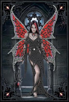Aracnafaria Fairy Crystal Art Notebook - Anne Stokes