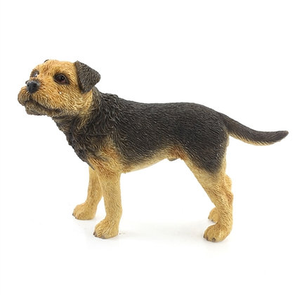 Leonardo Border Terrier Dog Ornament