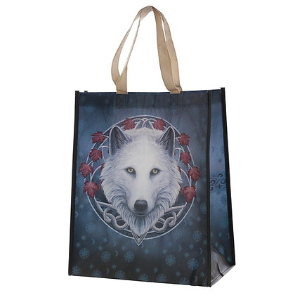 Guardian of The Fall Wolf Shopping Bag (Lisa Parker)