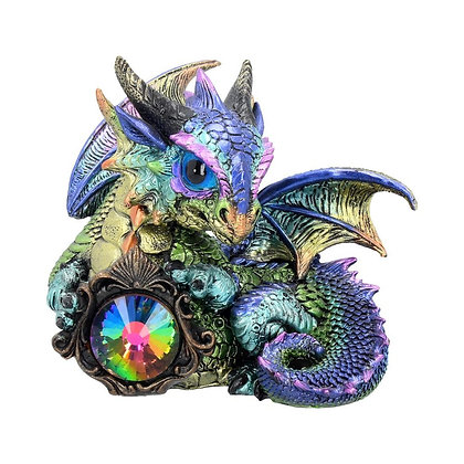 Azuron Dragon Ornament 14cm