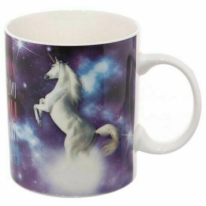 Majestic Unicorn Bone China Mug - Lauren Billingham