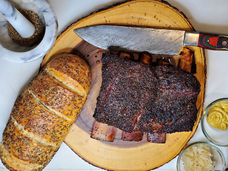 Pastrami Home Cured Beef Chuck Short Ribs