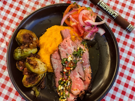 Rustic Argentina Steakhouse Chimichurri