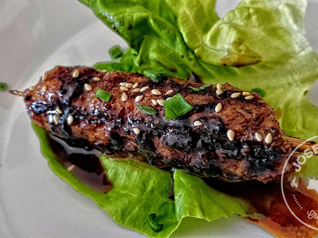 Asian Sausage Lettuce Wraps