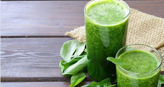 Receta jugo verde cúrcuma