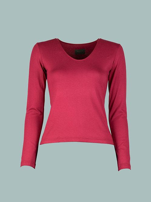V-Shirt - pink