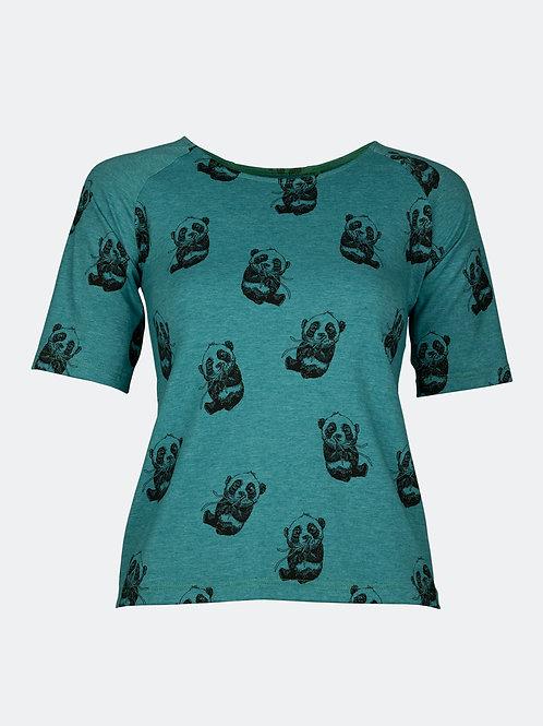 Shirt Monia - Panda türkis