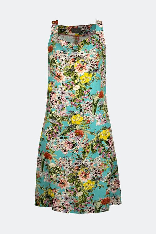 Kleid Luna - Bouquet Pastell