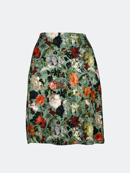 Rock Cornelia - Floral minttürkis