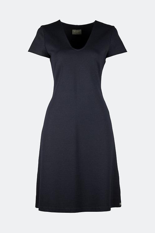V-Kleid - blau