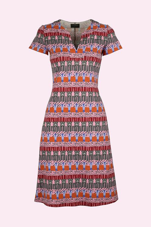 Kleid Bergit- Safari