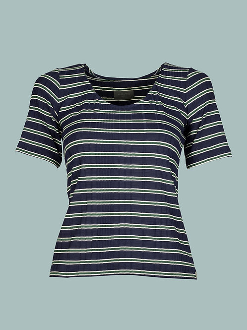 Shirt Ruth - Streifen blau