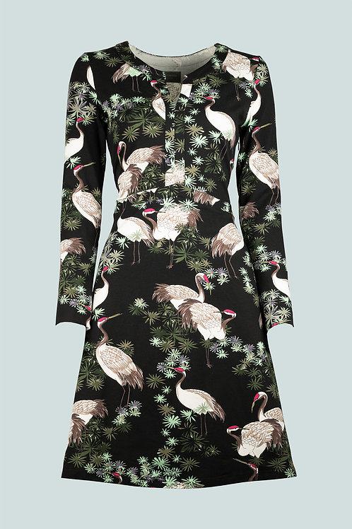 Kleid Katharina - Kranich