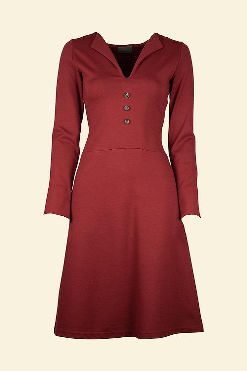 Kleid Amira - bordeaux