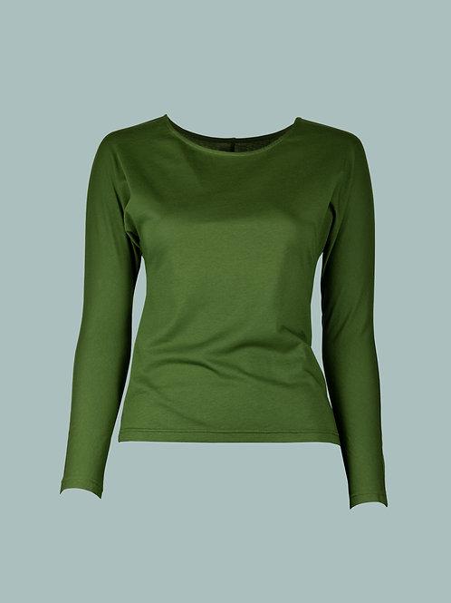 Fledermausshirt - grün