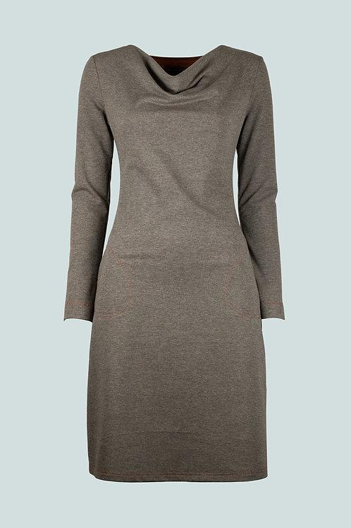 Kleid Ulrike - taupe