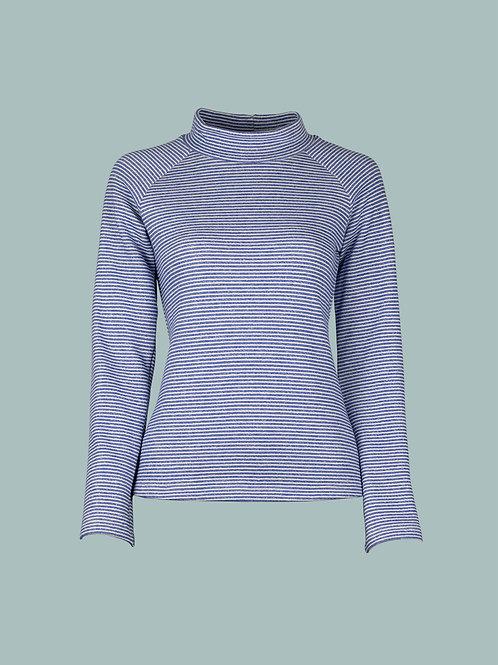 Shirt Rolli Monia - Streifen blau
