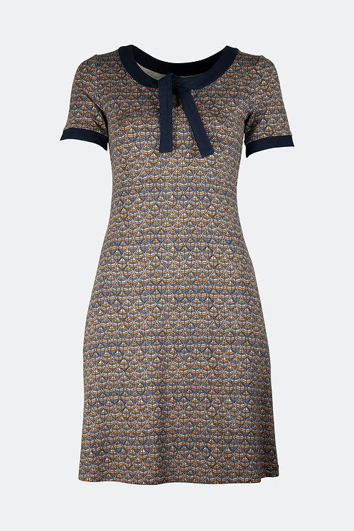 Kleid Helene - Blätter Retro