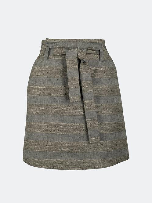 Rock Laura - Streifen grau